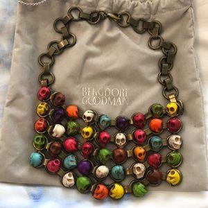 Dannijo skull necklace